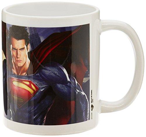 Man Of Steel:Cityscape Ceramic Mug