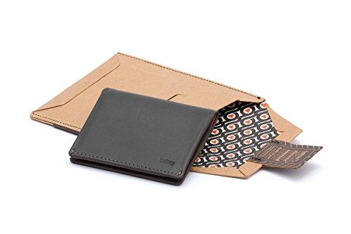 En design Précédent Cuir Charcoal Sleeve Bellroy Slim Teal Pour Portefeuille Hommes 7dzwcx