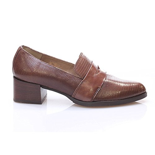 Wonders Antifaz Zapato Zapato Wonders Tacon Marron YTUrYxw