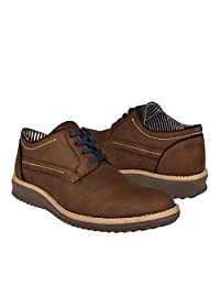 STYLO Zapatos Casuales 209 Suede Cafe