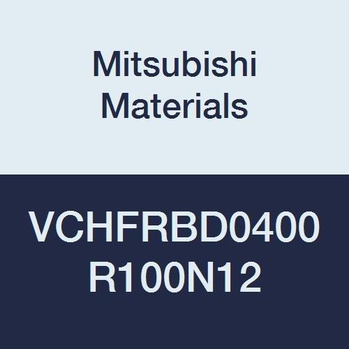 4 Flutes 4 mm LOC Mitsubishi Materials VCHFRBD0400R100N12 VCHFRB Series Carbide Miracle End Mill High Feed Corner Radius 50 mm L 12 mm Neck Length Radius Shape 4 mm Cut Dia 1 mm Corner Radius