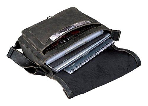 Pride and Soul 47152 Shoulder Bag ALLY Aktentasche, Antik Grau