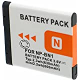 Otech Batterie Compatible pour Sony Cyber-Shot DSC-W830