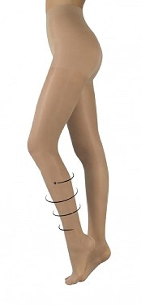 8aadf3d13664d Ladies Lightweight Light Leg Support Tights Compression Hose 40 Denier  Natural Medium: Amazon.co.uk: Clothing