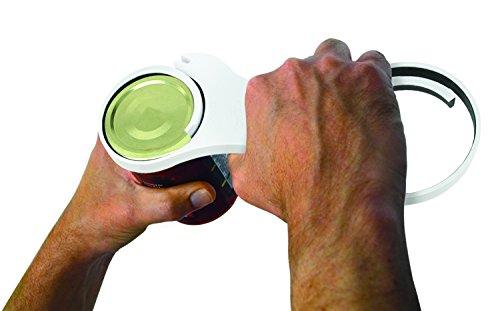 (Handy Gourmet Universal Easy Jar Can Bottle Opener, 5 in 1 Twistease Twister)