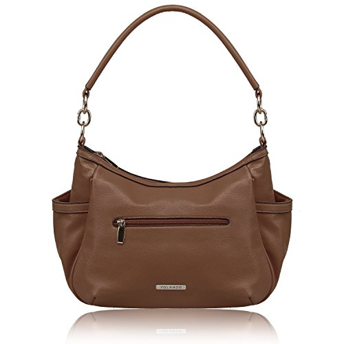 Zipper Pocket Handbag - 1