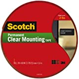 Scotch® Clear Mounting Tape 4010-Long, 1 Inch x 450 Inches