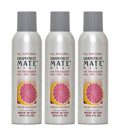 (Orange Mate Air Freshner Grapefruit Mate Mist, Grapefruit Mate Mist 7 OZ (Pack of 3))