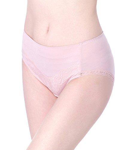 Intimate Portal Women True Comfy Modal Cotton Full Brief Panties No Panty Lines