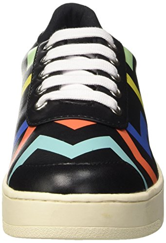 Jeffrey Campbell Damen Zigzag Cheerleader Nero (Colorful Black)