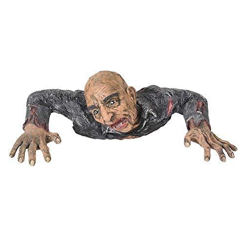 AMPERSAND SHOPS Spooky Gory Graveyard Groundbreaking Zombie Undead Halloween Prop Scary Yard Décor ()