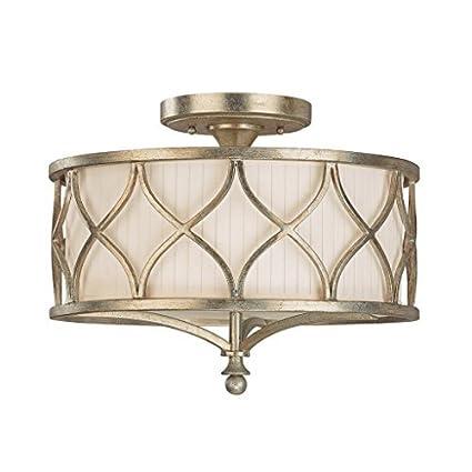 Saint Mossi Tiffany Diseñado Lámparas De Techo Semi Flush ...