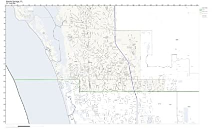 Amazon Com Zip Code Wall Map Of Bonita Springs Fl Zip Code Map