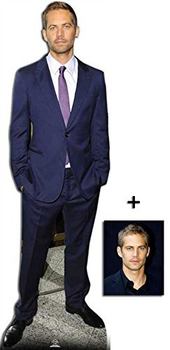 Fan Pack - Paul Walker Lifesize Cardboard Cutout / Standee / Standup - Includes 8x10 (20x25cm) Photo by BundleZ-4-FanZ Fan Packs by Starstills