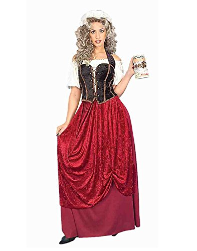 Forum Novelties Women's Olde Time Tavern Wench Costume, Multi, Standard]()