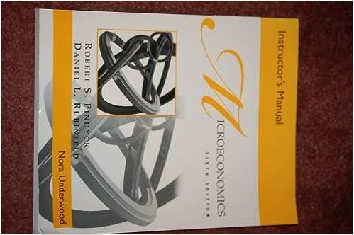 Microeconomics 6th edition instructors manual robert s pindyck microeconomics 6th edition instructors manual 6th edition fandeluxe Images
