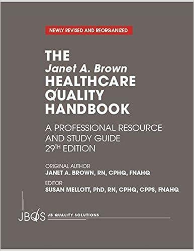 The The Janet A. Brown Healthcare Quality Handbook, 29th Edition 41zOsUri86L._SX384_BO1,204,203,200_