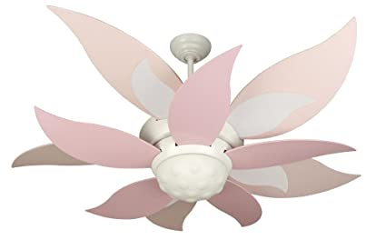 Craftmade bl52w bloom white kids 52 ceiling fan w light remote craftmade bl52w bloom white kids 52quot ceiling fan w light remote control aloadofball Image collections