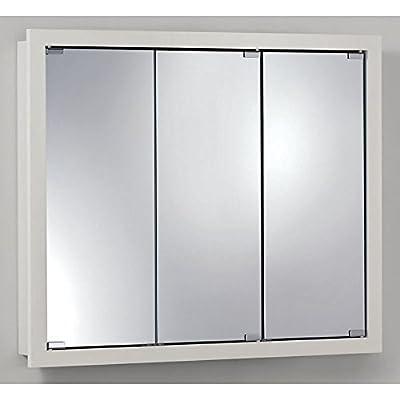 Jensen Medicine Cabinet Granville Tri-View 36W x 30H in. Surface Mount Medicine Cabinet