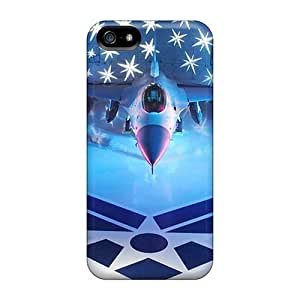 Anti-scratch And Shatterproof Air Force Phone Case For Iphone 5/5s/ High Quality Tpu Case