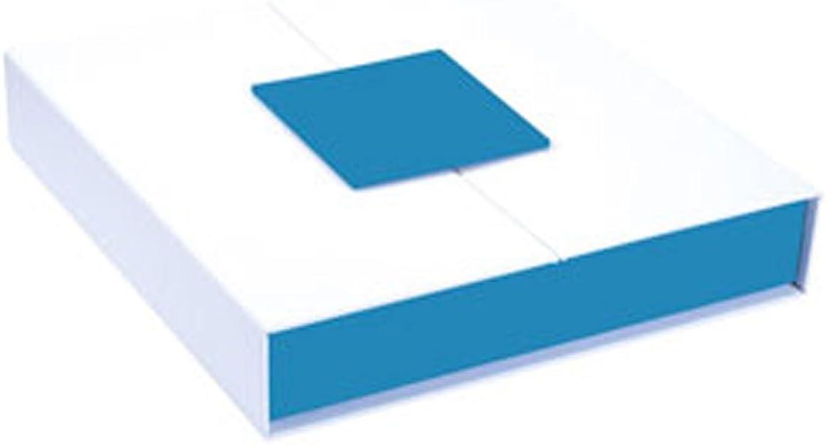 Jouailla-Caja para collar, color blanco y turquesa: Amazon.es: Joyería