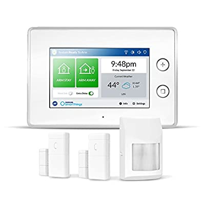 Samsung SmartThings ADT Wireless Home Security Starter Kit with DIY Smart Alarm System Hub, Door and Window Sensors, and Motion Detector - Alexa Compatible (Zigbee, Z-Wave, IP Network Protocols) - 4024121 , B077JRBSSZ , 454_B077JRBSSZ , 101.99 , Samsung-SmartThings-ADT-Wireless-Home-Security-Starter-Kit-with-DIY-Smart-Alarm-System-Hub-Door-and-Window-Sensors-and-Motion-Detector-Alexa-Compatible-Zigbee-Z-Wave-IP-Network-Protocols-454_B077JRBSSZ