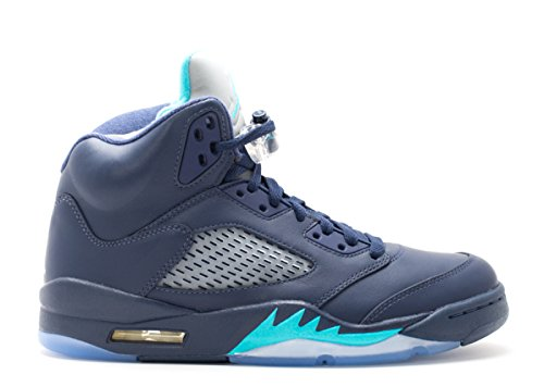 Nike Men's wht Midnight Navy 5 Jordan Basketball Air Blue Retro Shoes Trqs rrUq71nR