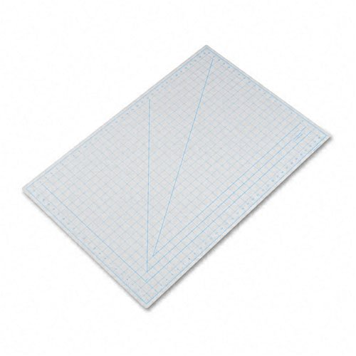 X-ACTO : Self-Healing Cutting Mat, Nonslip Bottom, 1'' Grid, 24 x 36, Gray -:- Sold as 2 Packs of - 1 - / - Total of 2 Each by X-Acto