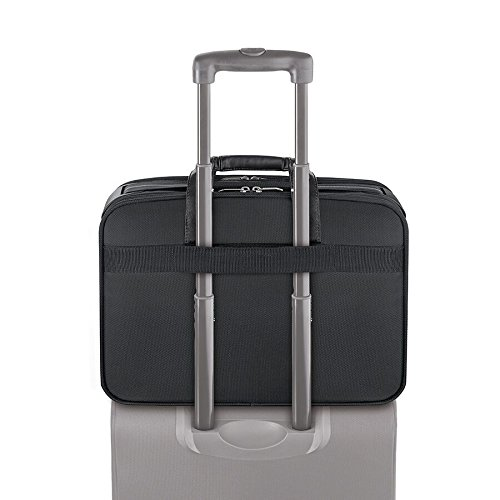 030918230046 - Solo Paramount 16 Inch Laptop Briefcase with Smart Strap, Black carousel main 4