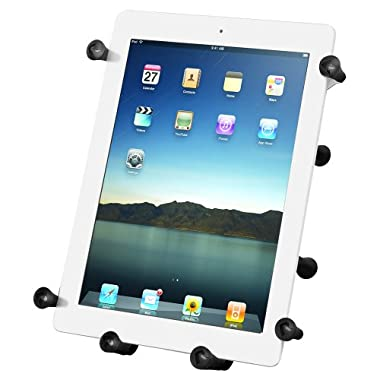 Ram Mount X-Grip III Universal Clamping Cradle for 10-Inch Large Tablets (RAMHOLUN9U