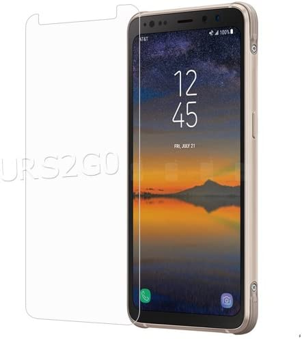 for AT/&T Samsung Galaxy S8 Active SM-G892A Phone High Definition 9H Hardness Scratch Resistant Anti-Shatter Tempered Glass Screen Protector Film Easy to Install