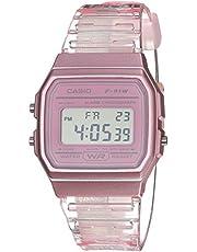 Casio Quartz Watch with Resin Strap, Pink, 20 (Model: F-91WS-4CF)