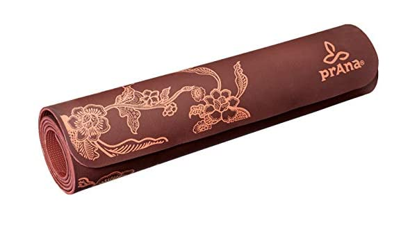 Prana Eco - Esterilla de Yoga para Mujer - U6PECO113-RDWO-O ...