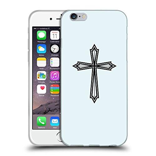 GoGoMobile Coque de Protection TPU Silicone Case pour // Q07970619 Christian Cross 22 Bulles // Apple iPhone 7