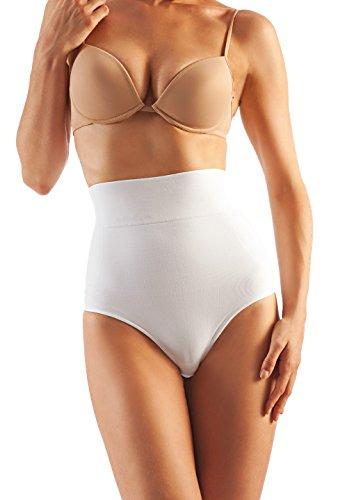 Shape cotone 610 modellante Bianco Farmacell contenitivo Perizoma in YBYdq