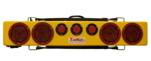 Sunllight Tail Turn BA Products New Towmate Yellow Sun Light TM22Y-4F TM22Y 4 Pin Flat Transmitter 22 Wireless Tow Light with LED Stop