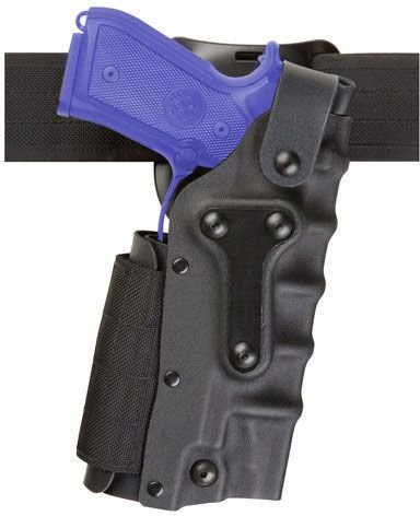 Safariland 3280 Military Mid-Ride Holster, STX Tactical Black by Safariland