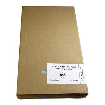 Frymaster 803 – 0124 freír Aceite Papel De Filtro Para freidoras filtermagic 2 & Huella II