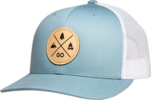 (Lindo Trucker Hat - GO Outdoors (Sky)