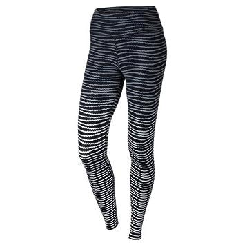 Nike Women's Legendary Eng Swell Tights, Black/Wolf Grey/Black, Medium
