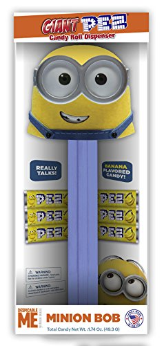 Despicable ME Minion Bob Giant PEZ Candy Dispenser - Giant Pez Candy Dispenser