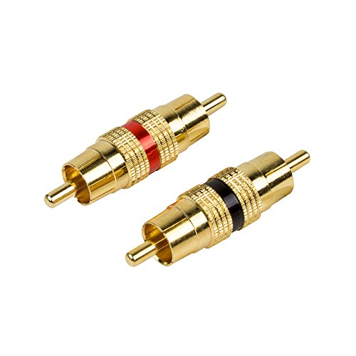 Raptor R5MM PRO SERIES - Barrel Connectors - Male to Male by Raptor