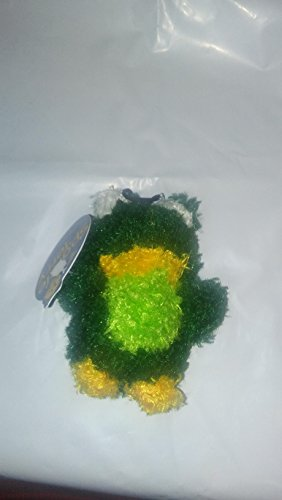 Booda Cat Toy Plush Catnip Sparkle Terry Frog 4 Inch (Frog Terry)