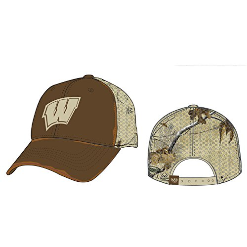 Top of the World Liberty Wisconsin Badgers Adjustable Two-Toned Hat