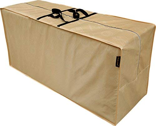 - Hentex Outdoor Cushion Storage Bag, Zippered Storage Bags with Handles, 48