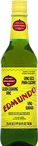 Edumundo Golden Cooking Wine, 25.4 oz by Edumundo