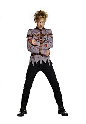 [Mischief & Mayhem Boys Gone Mental Costume, One Color, Large, One Color, Large] (Child Straight Jacket Costume)