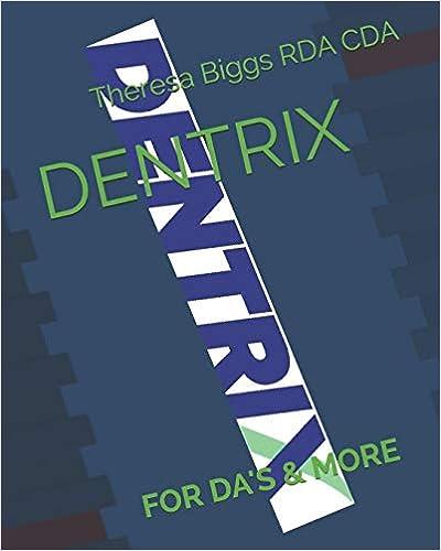 DENTRIX: FOR DAS & MORE