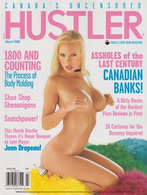 Hustler Canada March 2000 Adult Magazine