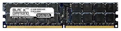 1GB RAM Memory for Gateway 9000 Series 9510 SATA (800MHz FSB) Server 240pin PC2-3200 DDR2 RDIMM 400MHz Black Diamond Memory Module Upgrade ()